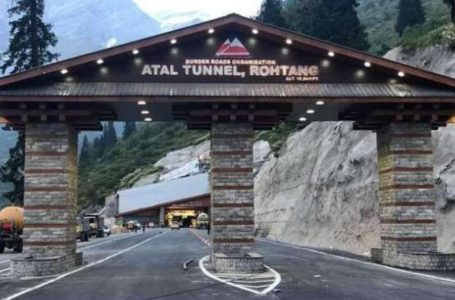 Atal Tunnel inaugurated